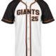 sublimated baseball jersey