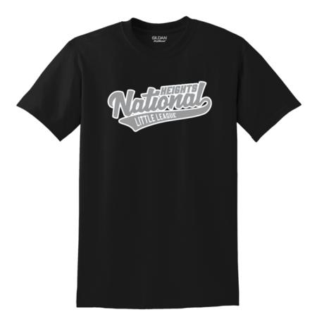 Heights National Baseball Tee