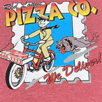 Fun Red Lodge Pizza Tee